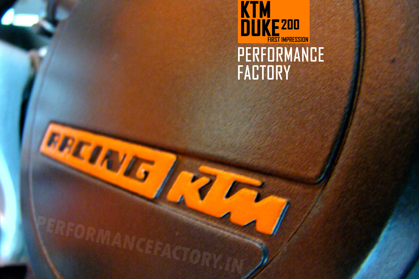 ktm duke 200 first impression by performance factory