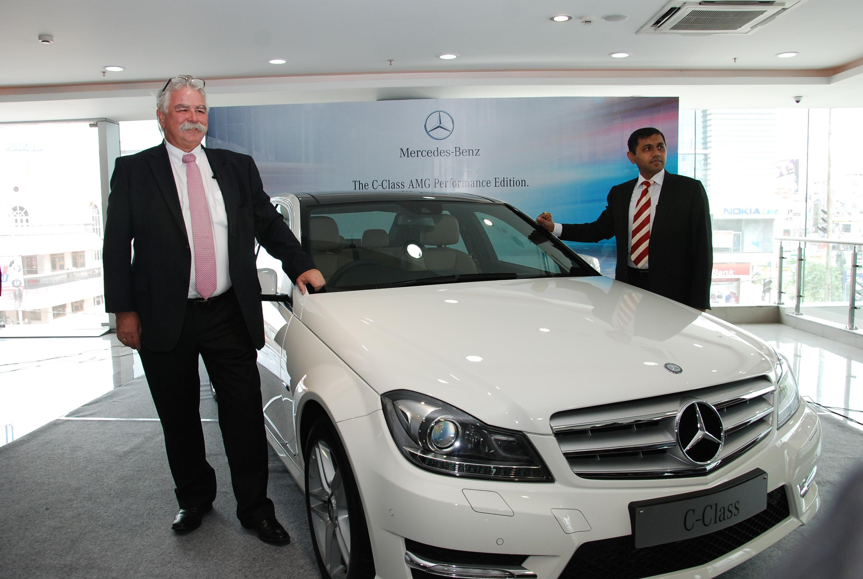Mercedes benz c class amg performance edition all set to for Mercedes benz ceo